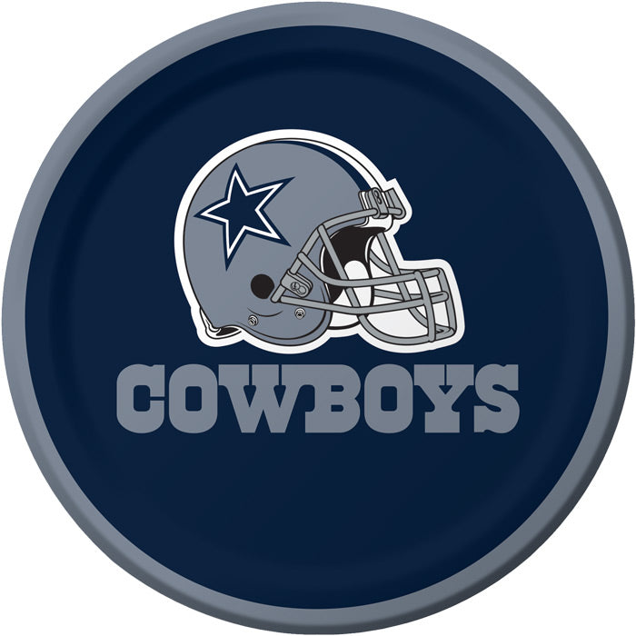 Dallas Cowboys Dessert Plates, 8 ct by Creative Converting
