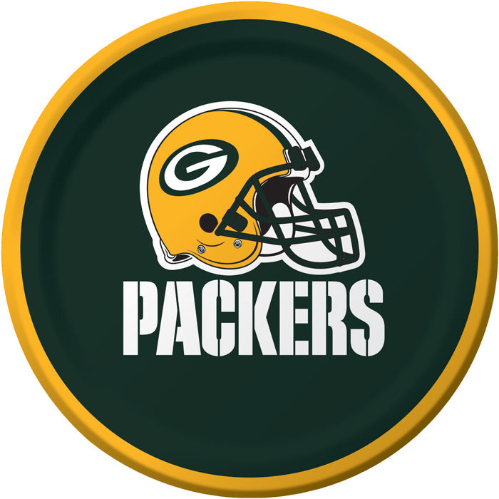 Green Bay Packers Dessert Plates, 8 ct by Creative Converting