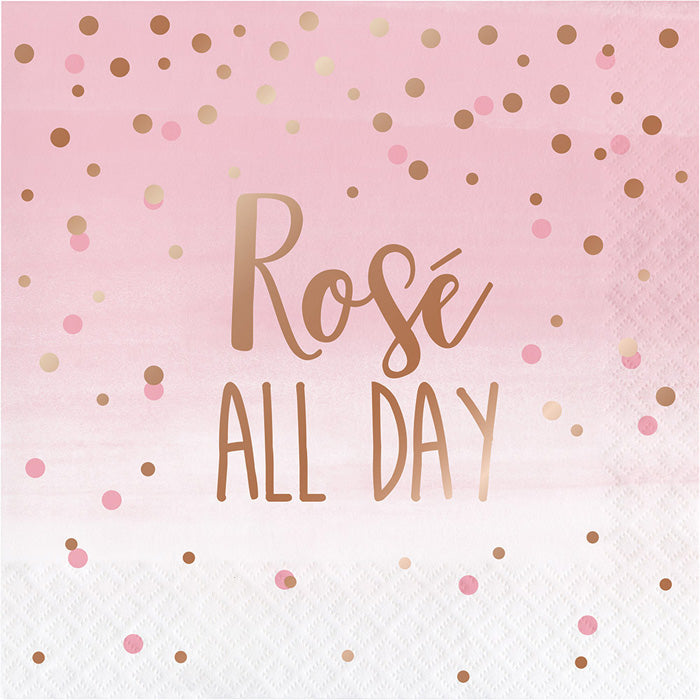 Rose' All Day Napkins, 16 ct by Creative Converting