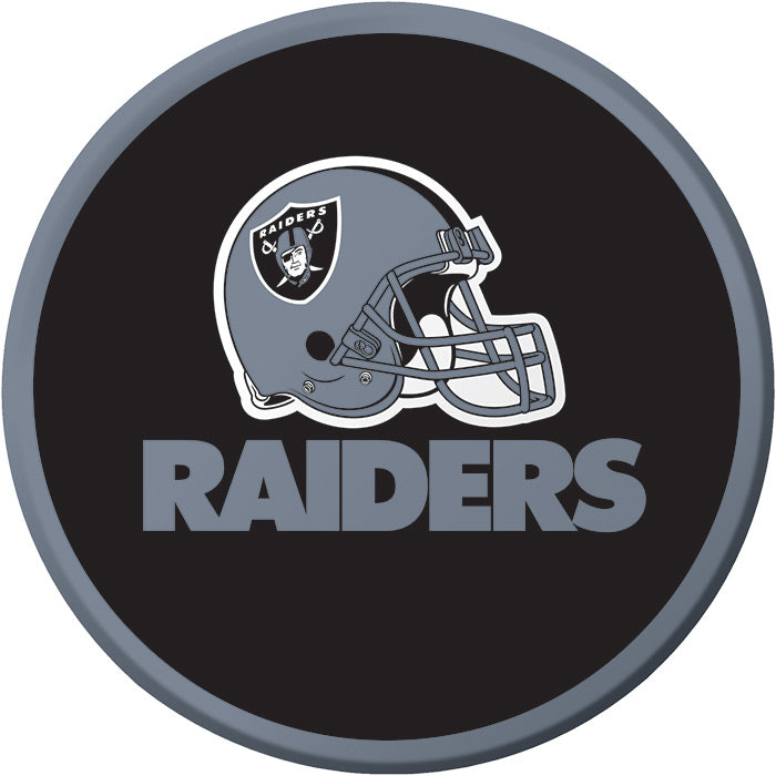Oakland Raiders Dessert Plates, 8 ct by Creative Converting