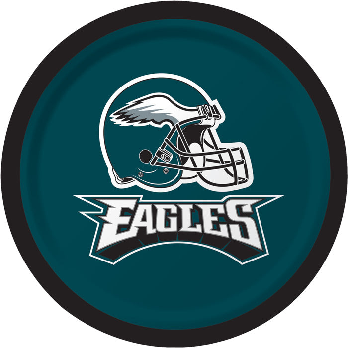 Philadelphia Eagles Dessert Plates, 8 ct by Creative Converting