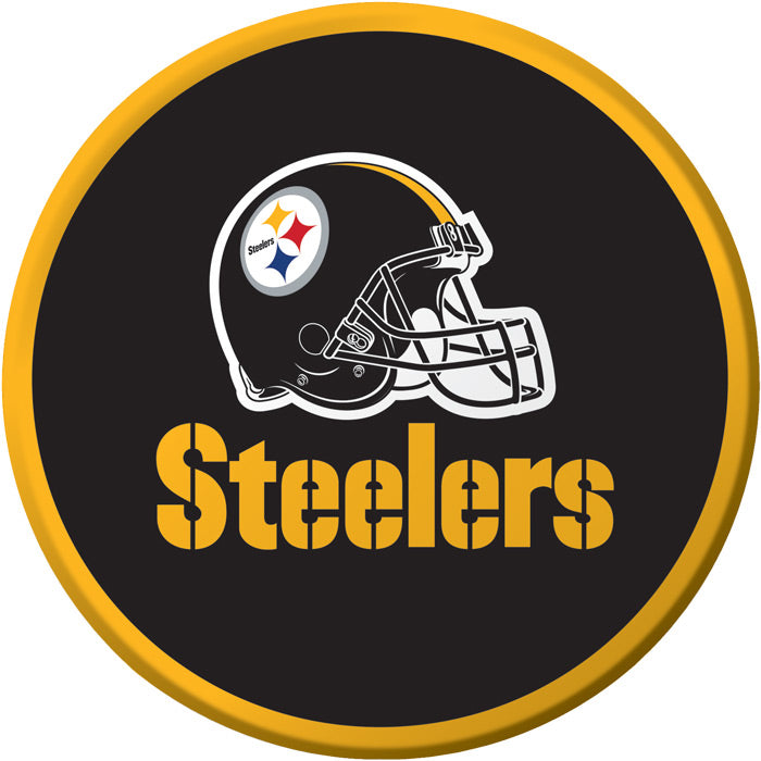 Pittsburgh Steelers Dessert Plates, 8 ct by Creative Converting