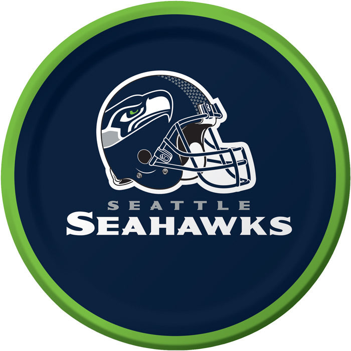 Seattle Seahawks Dessert Plates, 8 ct by Creative Converting