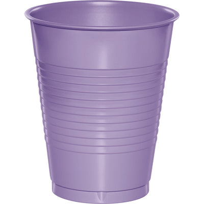 Luscious Lavender Plastic Cups, 20 ct by Creative Converting