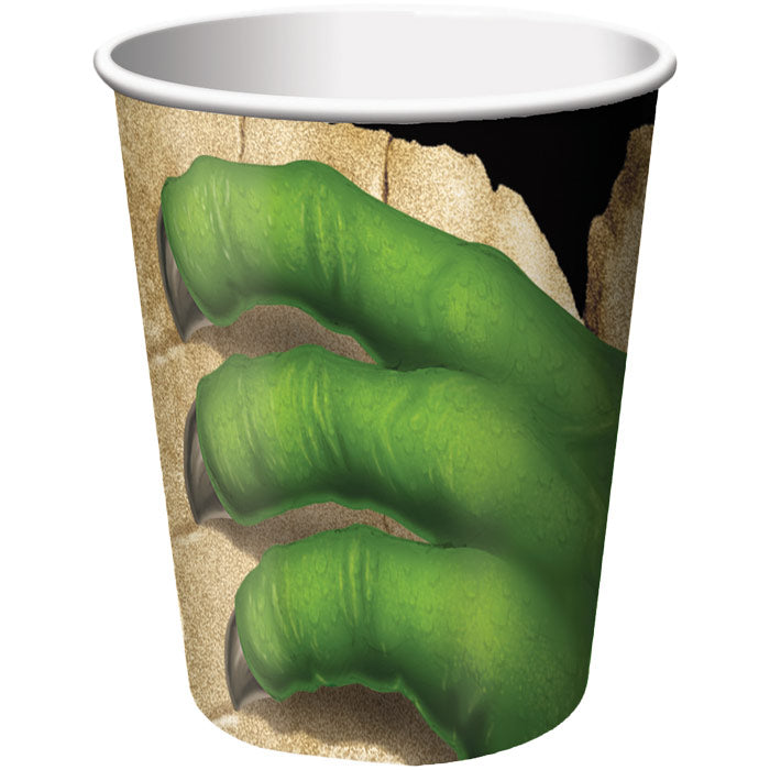 Dino Blast Hot/Cold Paper Cups 9 Oz., 8 ct by Creative Converting
