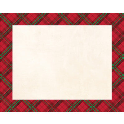 Holiday Plaid Placemats, 12 ct by Creative Converting