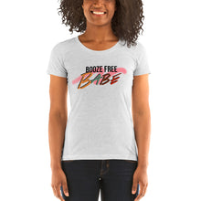 Load image into Gallery viewer, Booze Free Ladies' short sleeve t-shirt
