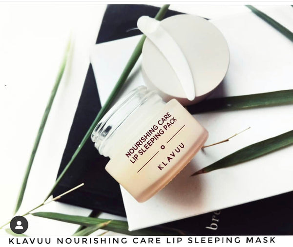 Klavuu Nourishing Care Lip Sleeping Pack review by @farya90