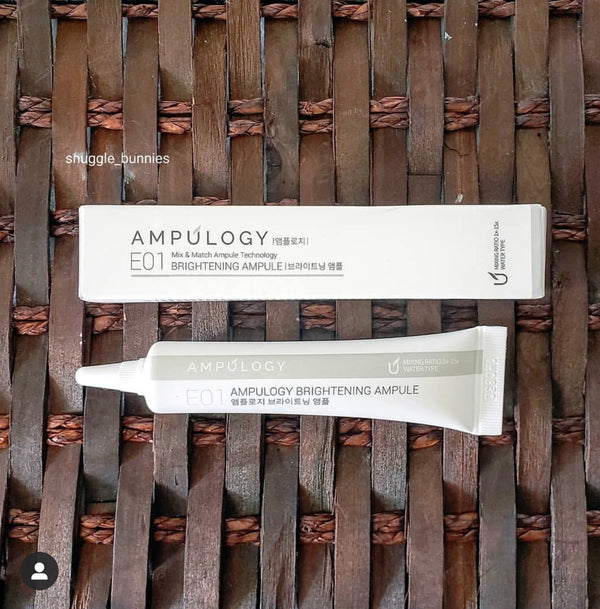 Ampulogy Brightening Ampoule review by @snuggle_bunnies