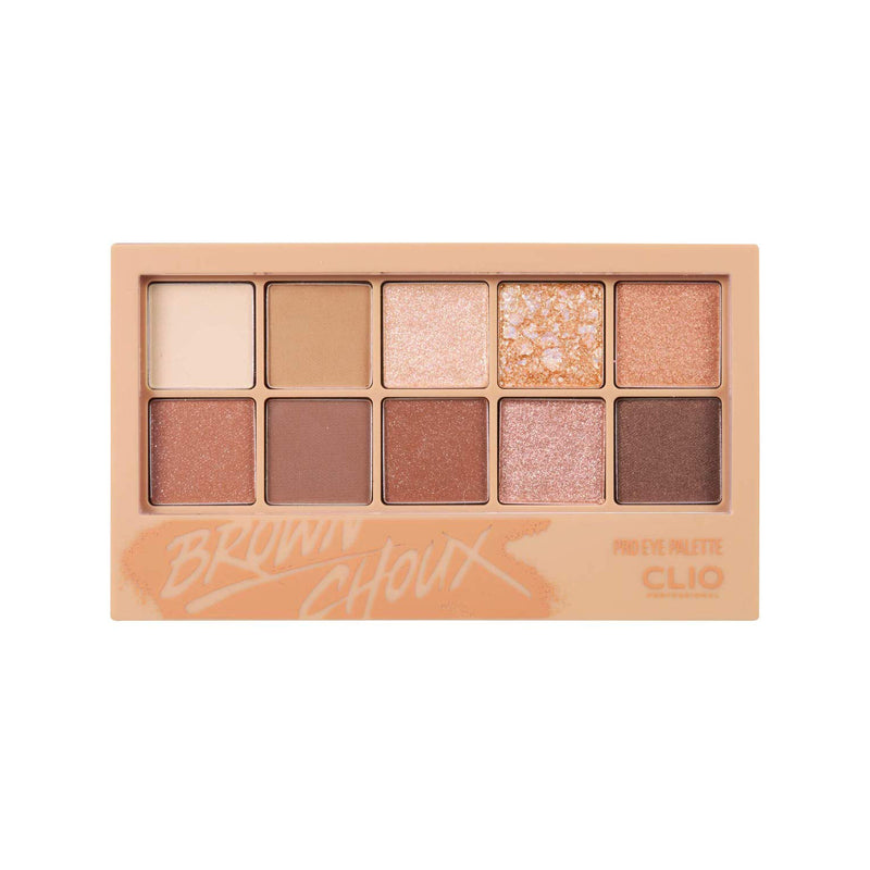 CLIO Pro Layering Eye Palette 02 BROWN CHOUX