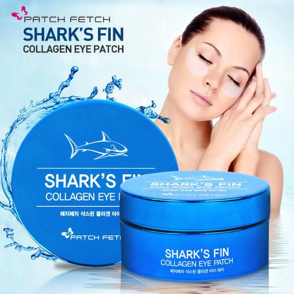 PATCH FETCH Shark's Fin Collagen Eye Patch - Goryeo Cosmetics worldwide shop