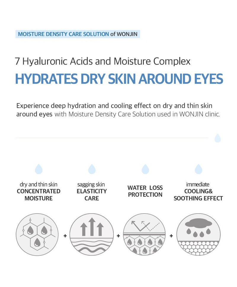 hydrates dry skin around eyes