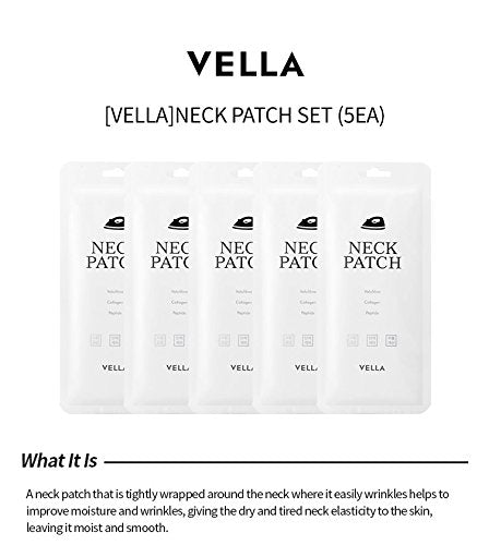 VELLA Neck Patch Set - 5 Units - Goryeo Cosmetics worldwide shop