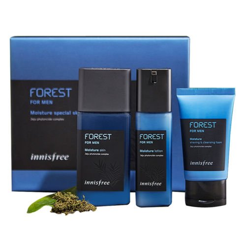 Innisfree Forest For Men Moisture Special Skin Care Set 3 Items - Goryeo Cosmetics worldwide shop