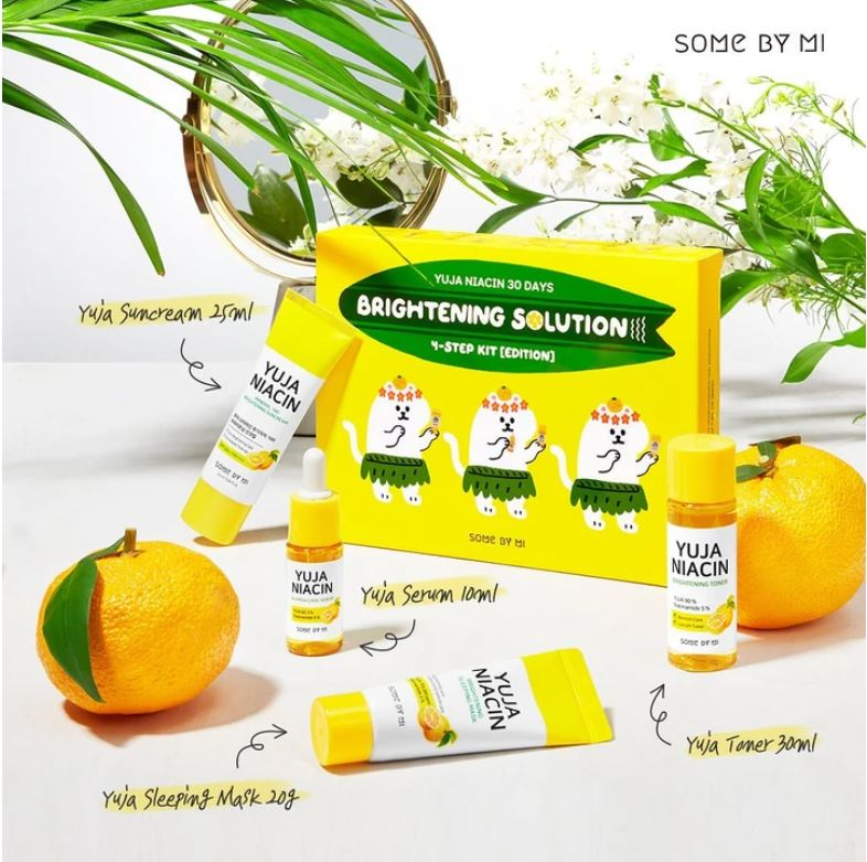 SOME BY MI Yuja Niacin 30 Days Brightening Solution 4-Step Kit Special Edition - Goryeo Cosmetics worldwide shop