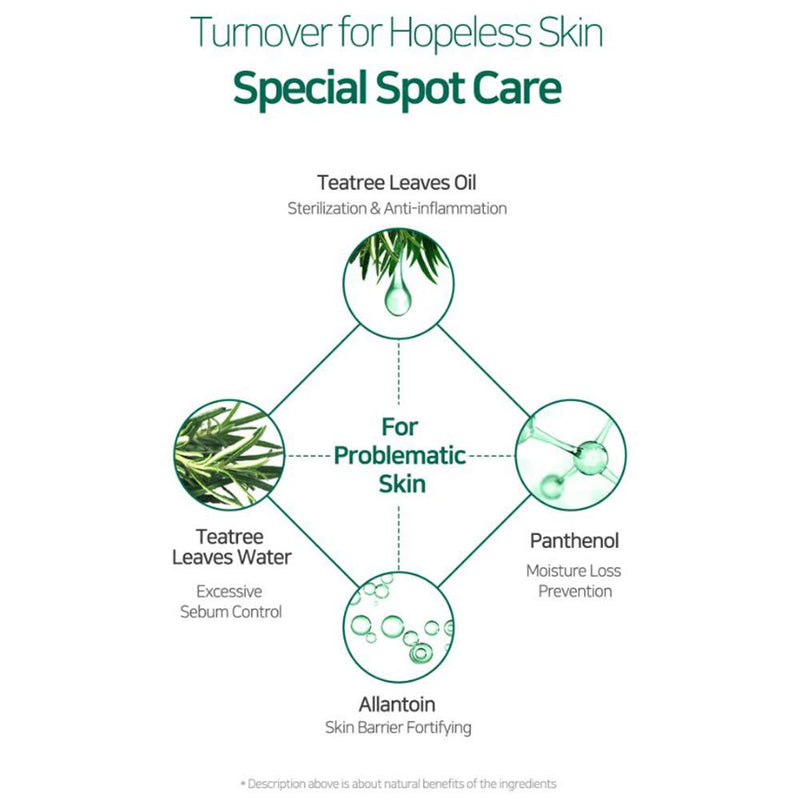 SOME BY MI 30Days Miracle Tea Tree Clear Spot Oil 10ml - Goryeo Cosmetics worldwide shop