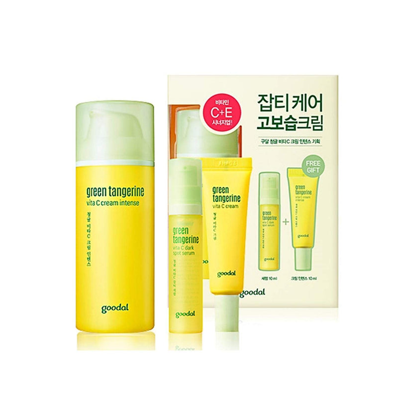 Goodal Green Tangerine Vita C Cream Intense Set