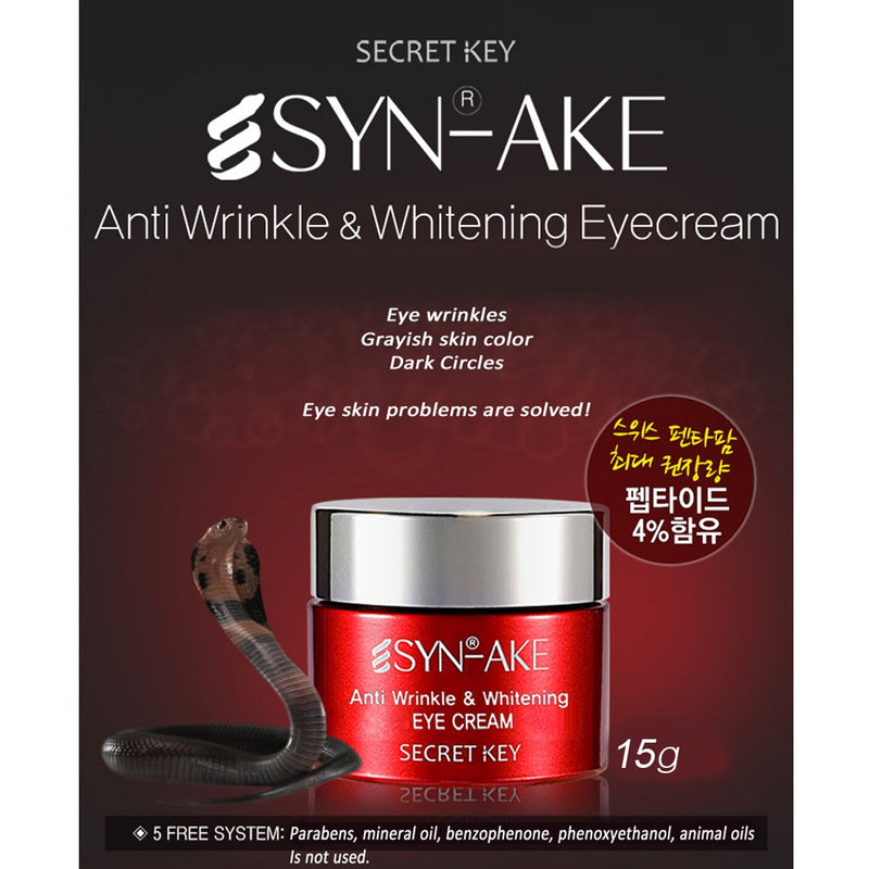 Secret Key - Syn Ake - Anti Wrinkle Eye Cream - Goryeo Cosmetics worldwide shop