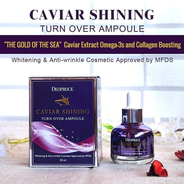 Deoproce Caviar Shining Turn Over Korean Ampoule 30ml