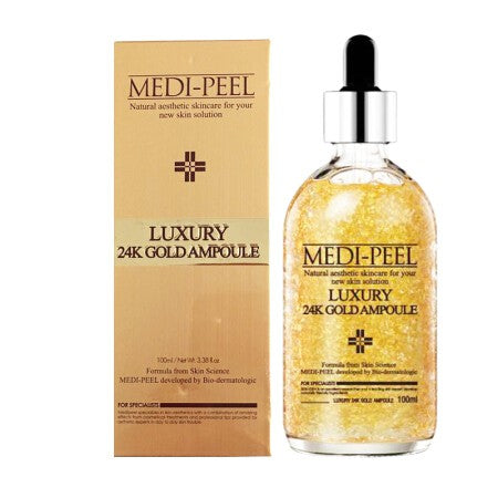 MEDI-PEEL Luxury 24K Gold Ampoule 100ml - Goryeo Cosmetics worldwide shop