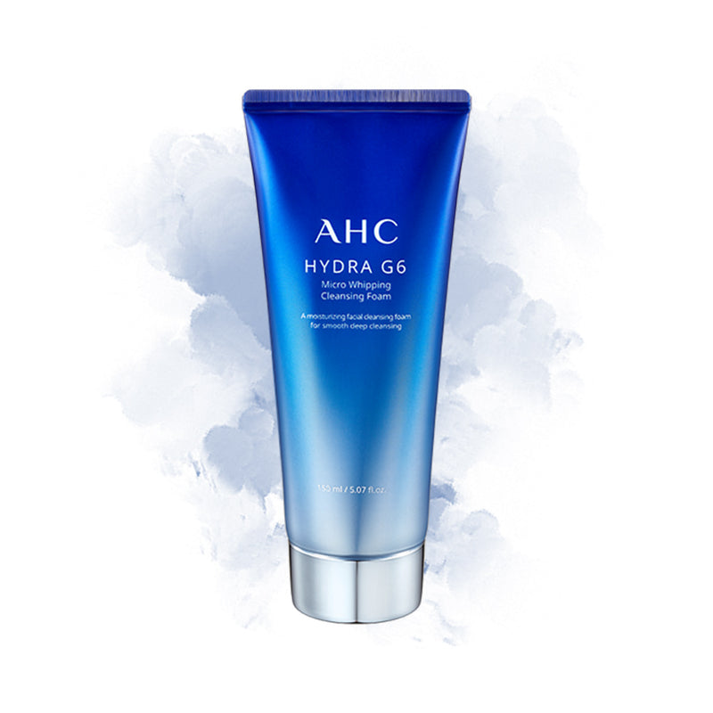 AHC Hydra G6 Micro Whipping Cleansing Foam - Goryeo Cosmetics worldwide shop