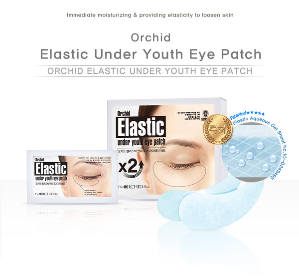 elastic eye patches orchid