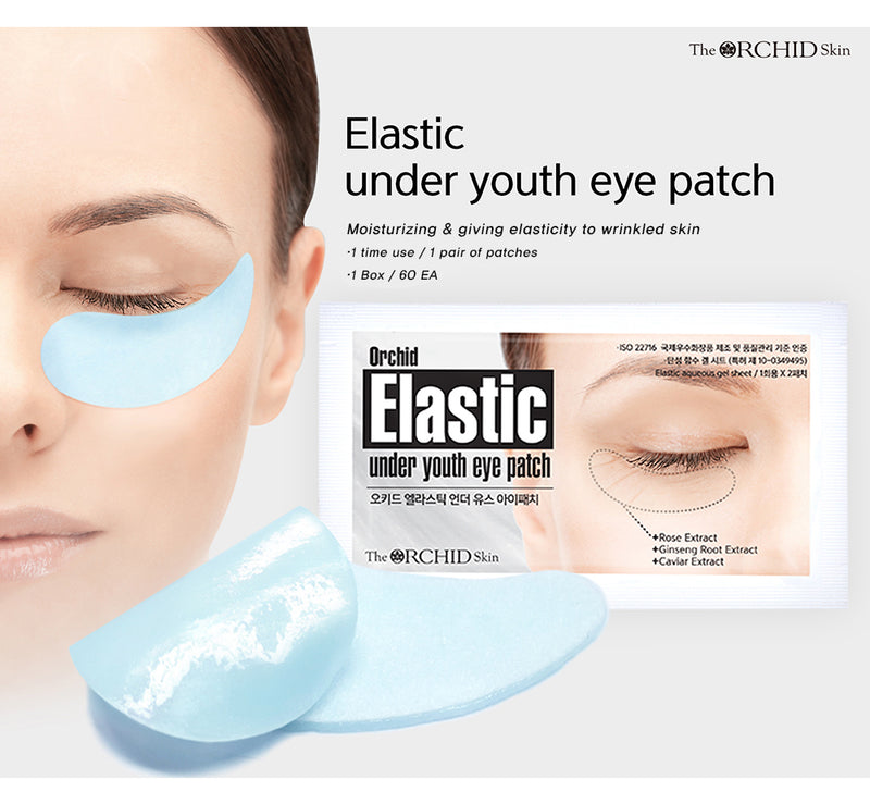 Orchid Elastic Under Youth Eye Patch - Goryeo Cosmetics worldwide shop