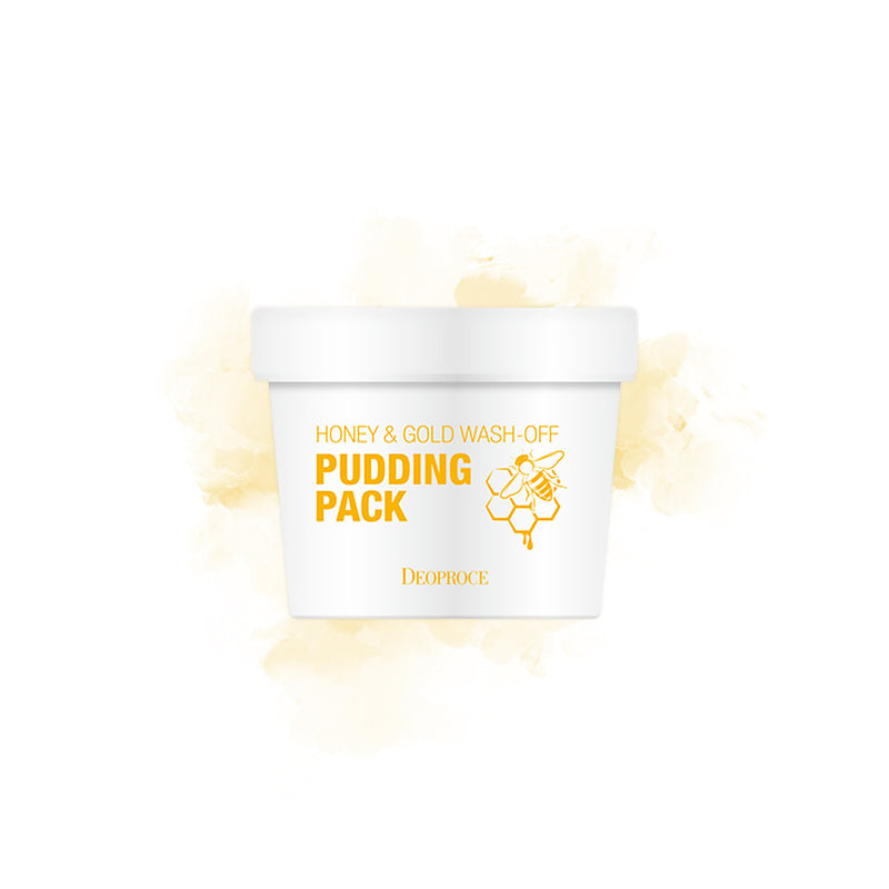 Deoproce Honey&Gold Wash-Off Pudding Pack - Goryeo Cosmetics worldwide shop