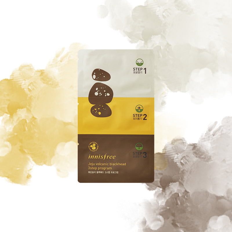 Innisfree Jeju Volcanic Blackhead 3step Program 1ea - Goryeo Cosmetics worldwide shop