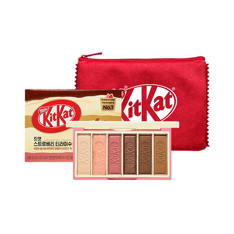 Etude House Play Color Eyes Mini KitKat Strawberry Tiramisu