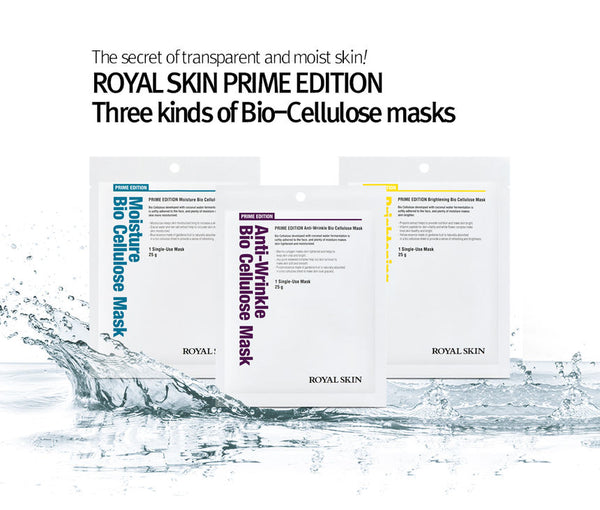 ROYAL SKIN PRIME EDITION Brightening Bio Cellulose Mask 1 unit