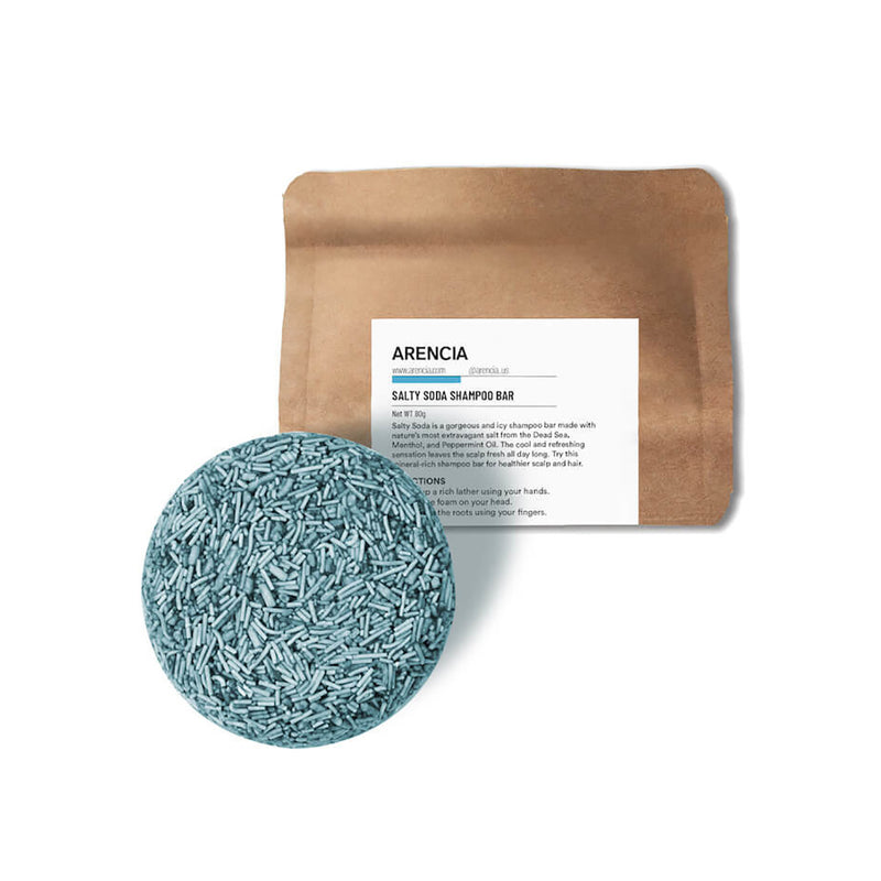 ARENCIA Salty Soda Shampoo Bar - Goryeo Cosmetics worldwide shop