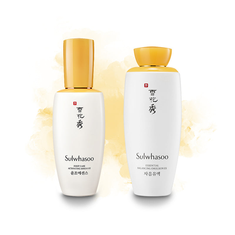 Sulwhasoo Essential Set (Serum and Emulsion) - Goryeo Cosmetics worldwide shop