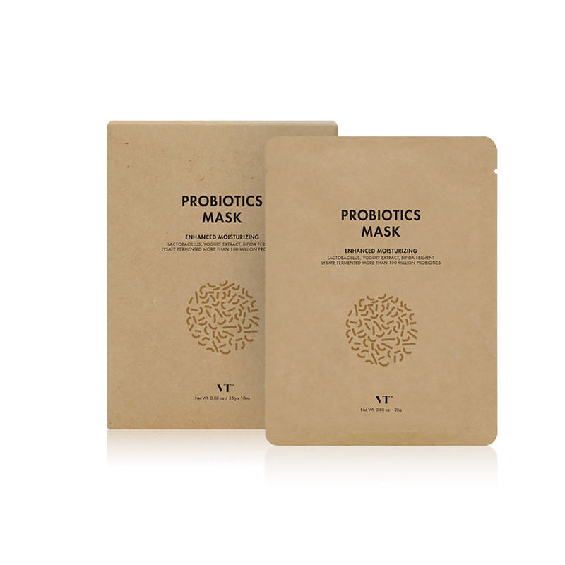 VT Cosmetic Probiotics mask sheet - 1 unit - Goryeo Cosmetics worldwide shop