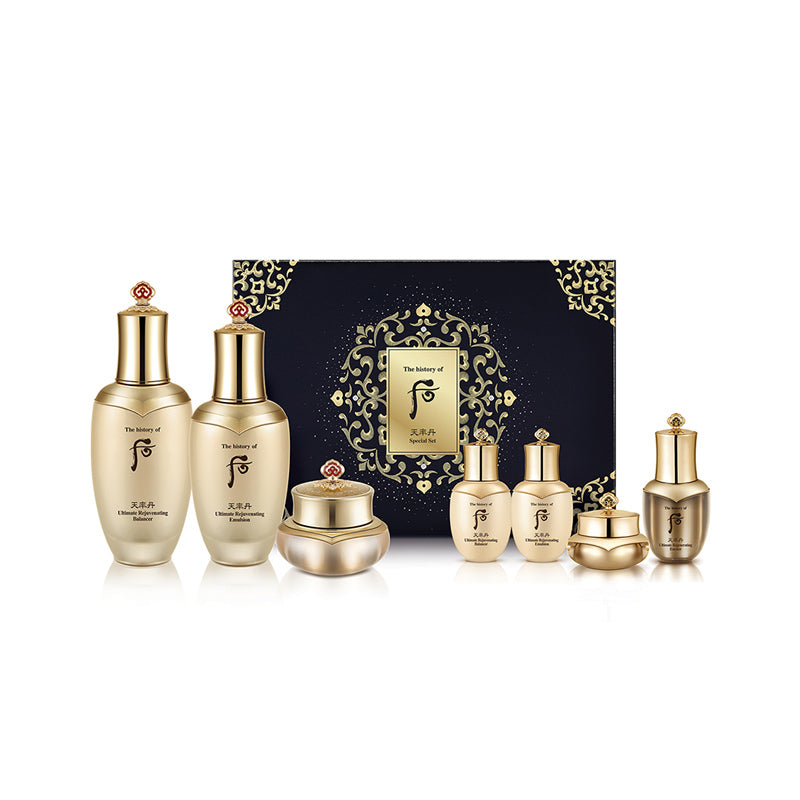 The History of Whoo Cheongyuldan Ultimate Rejuvenating 3 Pieces Set