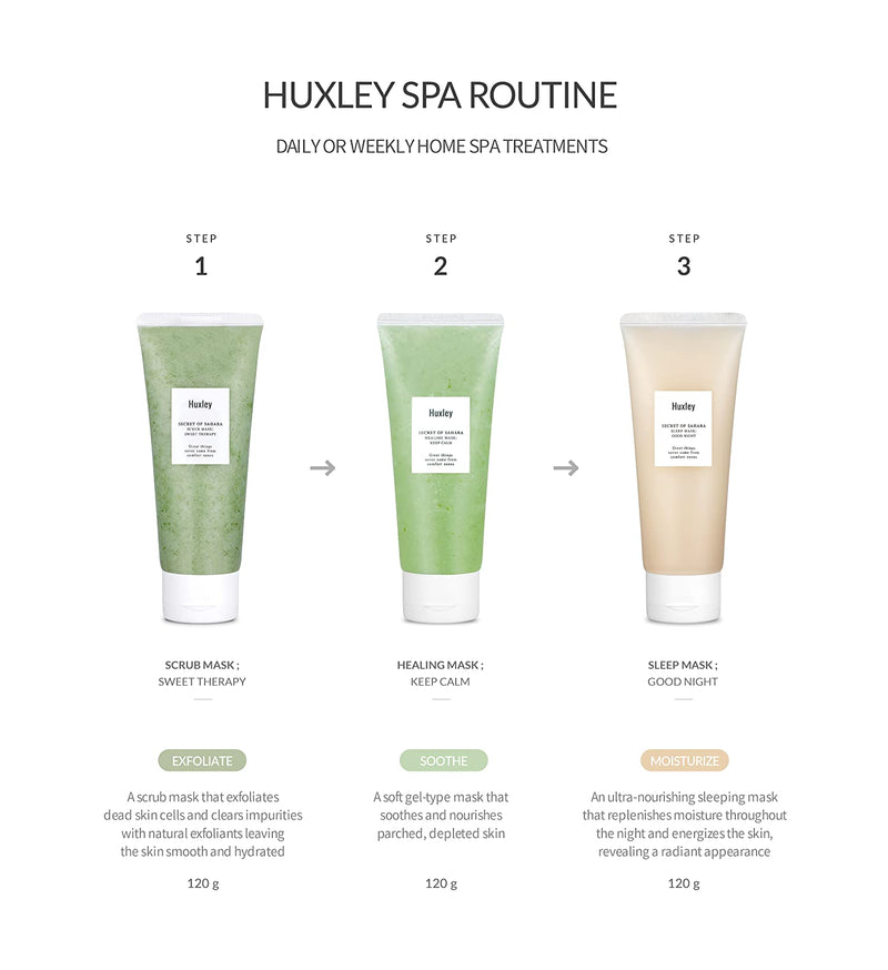 Huxley Sleeping Mask Good Night - Goryeo Cosmetics worldwide shop