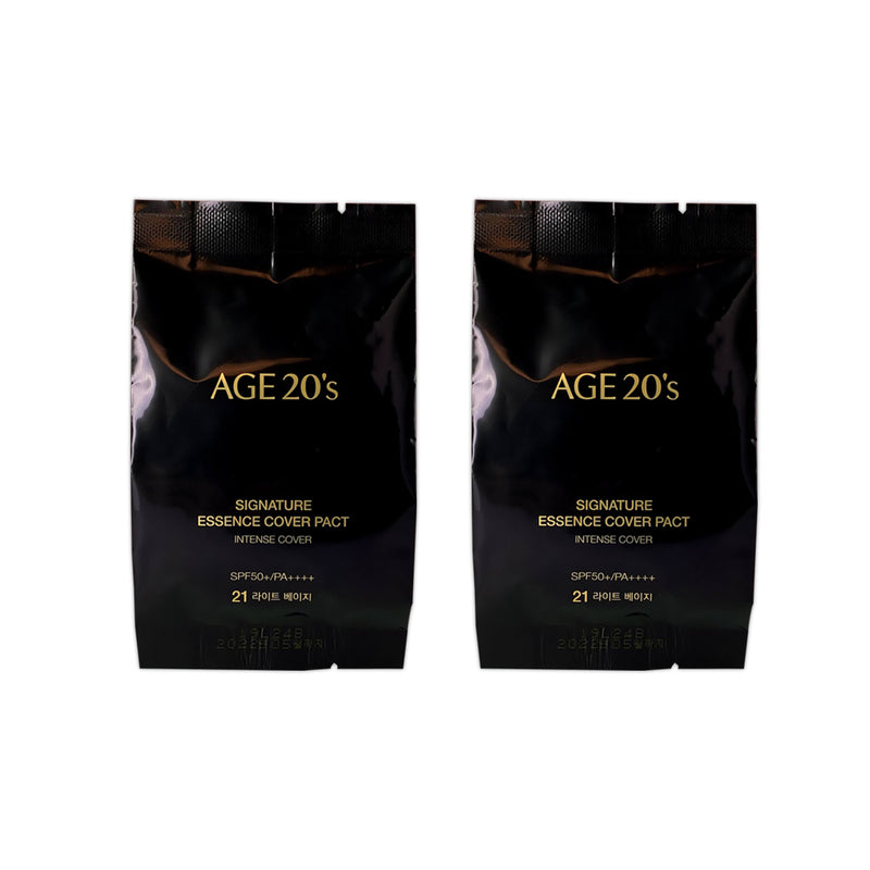 AGE 20'S SIGNATURE ESSENCE COVER PACT [2020 LUCKY NEW YEAR EDITION] Pouch Set - Goryeo Cosmetics worldwide shop