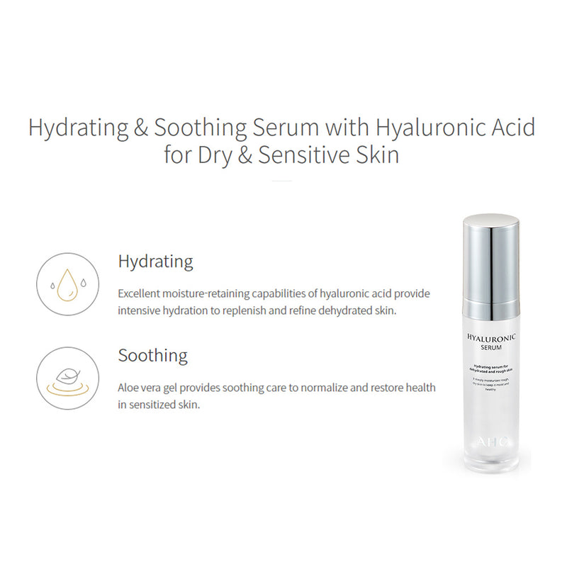 AHC Hyaluronic Serum - Goryeo Cosmetics worldwide shop