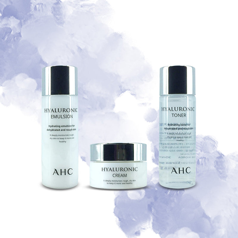 AHC Hyaluronic Trial Kit Moisturizing - Goryeo Cosmetics worldwide shop