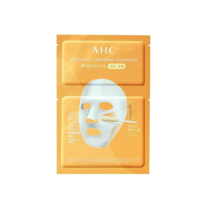 AHC Esthetic Layering Solution Mask Brightening - Goryeo Cosmetics worldwide shop