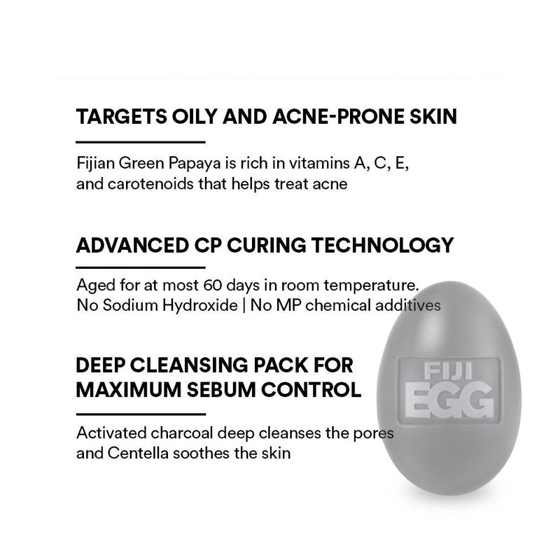 ARENCIA Fiji Egg cleansing pack - Goryeo Cosmetics worldwide shop