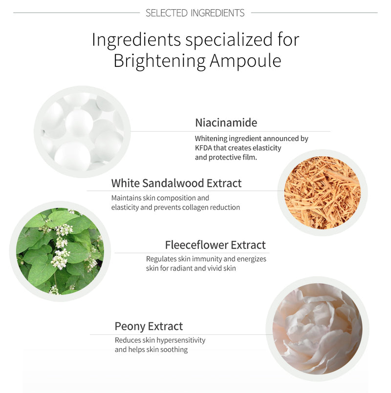 AMPULOGY BRIGHTENING AMPOULE 30ML - Goryeo Cosmetics worldwide shop