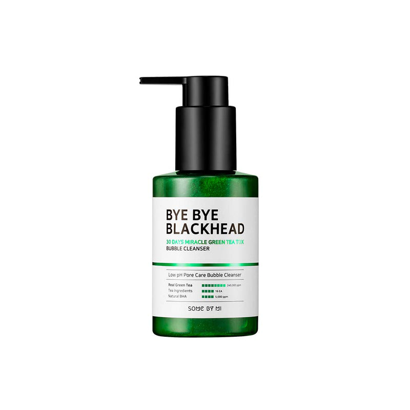 SOME BY MI Bye Bye Blackhead 30 Days Miracle Bubble Cleanser - Goryeo Cosmetics worldwide shop