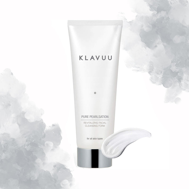 KLAVUU PURE PEARLSATION CLEANSING FOAM - Goryeo Cosmetics worldwide shop