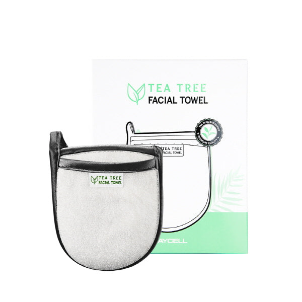 [DAYCELL] Tea Tree Facial Towel - Goryeo Cosmetics worldwide shop