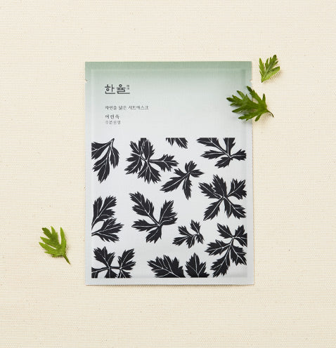 Hanyul Nature In Life Sheet Mask - Pure Artemisia - Goryeo Cosmetics worldwide shop