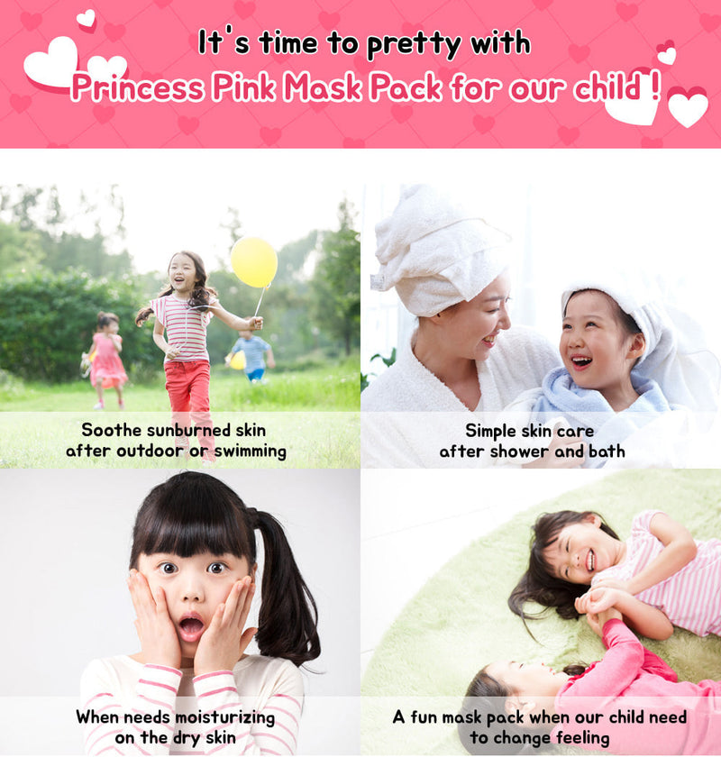 DAYCELL Princess Pink's Kids Mask Pack - Goryeo Cosmetics worldwide shop