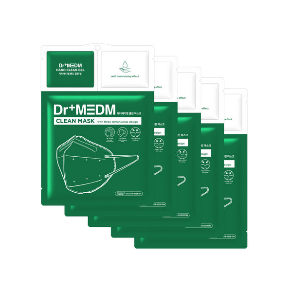 Dr+Medm Clean Protective 4 layers Mask 3 Step