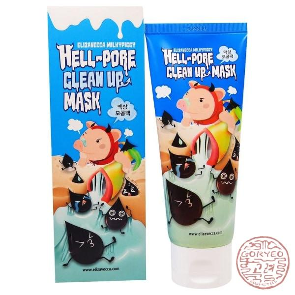 ELIZAVECCA Hell-Pore Clean Up Mask 100ml - Goryeo Cosmetics worldwide shop