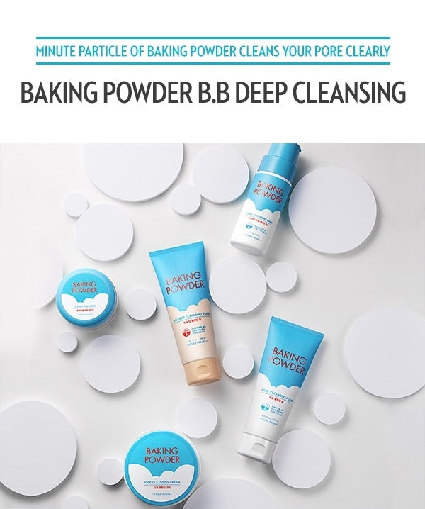 Etude House Baking Powder B.B Deep Cleansing Foam 30ml - Goryeo Cosmetics worldwide shop